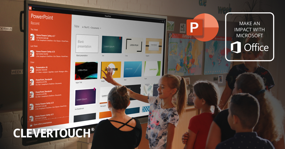 Clevertouch and Microsoft Office 365 - Part One