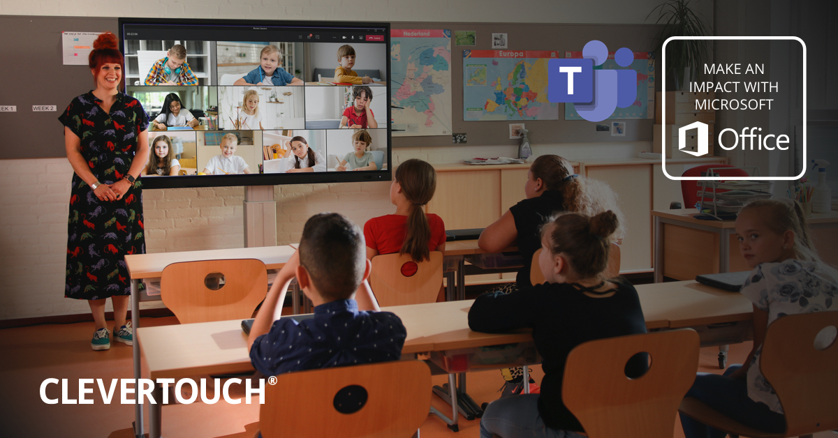 Clevertouch Classrooms with Microsoft Teams