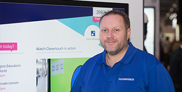 Q&A with Clevertouch Sales & Marketing Director, Shaun Marklew thumbnail