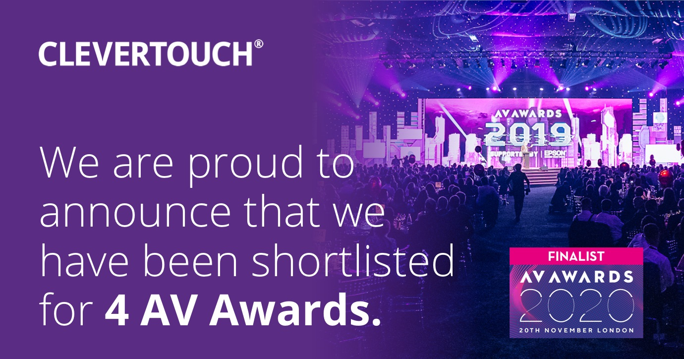 Shortlisted for four AV Awards thumbnail