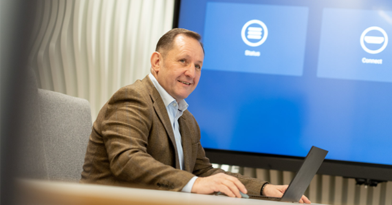 CLEVERTOUCH ANNOUNCE A NEW ROLE WITHIN THE LEADERSHIP TEAM thumbnail