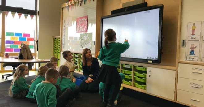 thumbnail forClevertouch equips Aberdeenshire schools with the latest AV technology