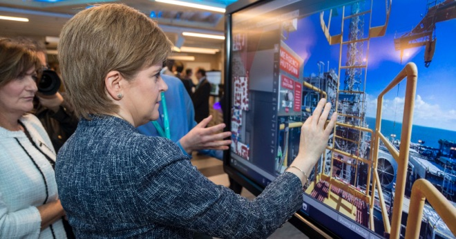 thumbnail forOil & Gas sector innovation hub installs Clevertouch to aid collaboration